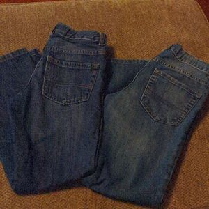 Lot of 2 Boys Bootcut jeans